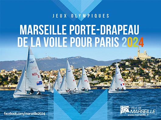 JO : Marseille porte-drapeau de la voile pour Paris 2024