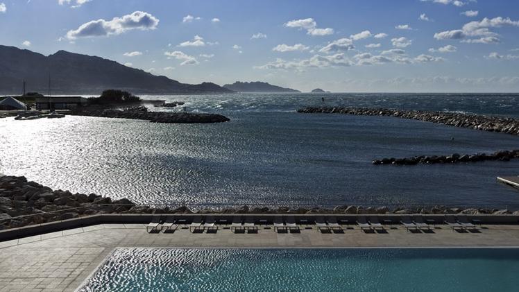 Pullman Marseille Palm Beach - vue