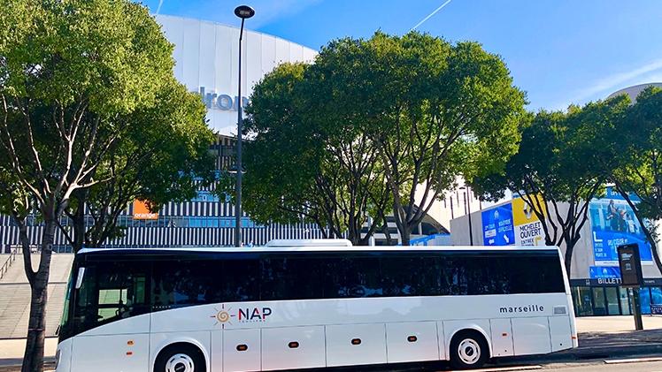 N.A.P Tourisme - Bus blanc Vélodrome