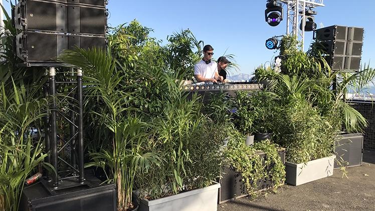 festival klassified au baou marseille table dj et technique