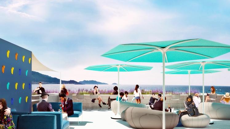 NHow palm beach - vue