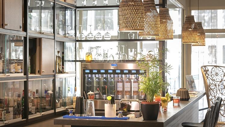 salle cocktail bar de l'hotel