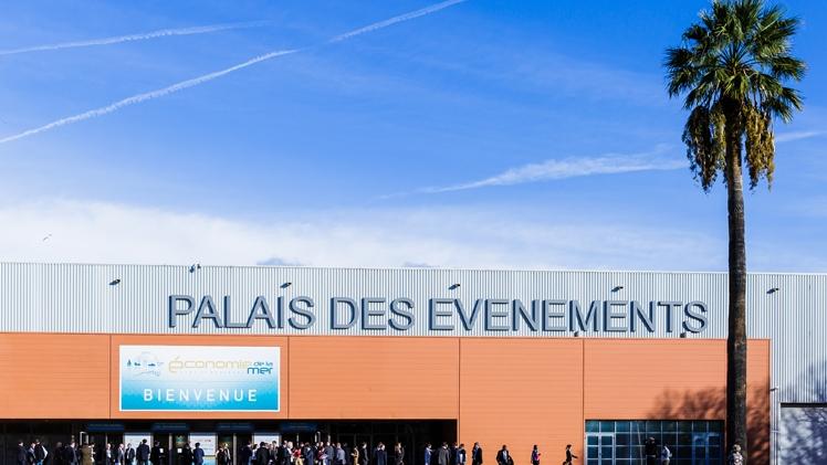 facade du Palais des évènements
