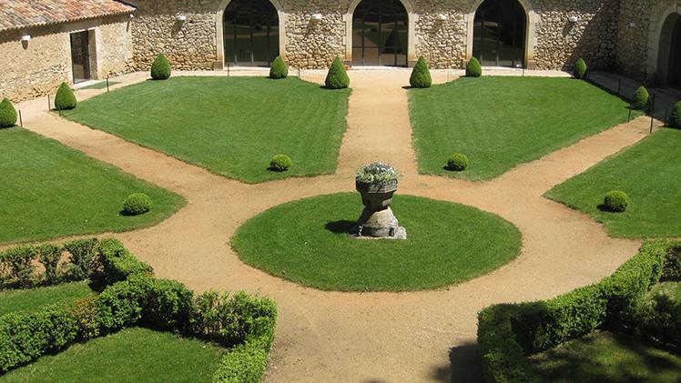 chateau pont royal jardin