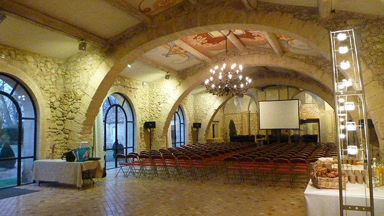 chateau pont royal diner seminaires et conventions