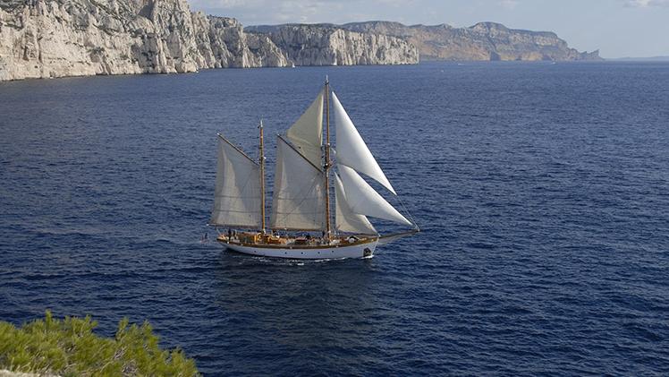 Le Don du Vent - vue extérieure bateau