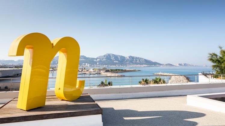 NHow Marseille Palm Beach entrance