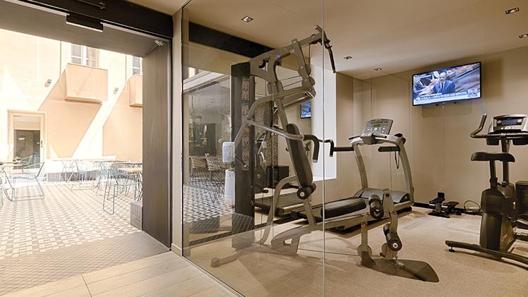 salle de fitness de l'hotel