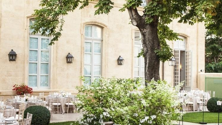 hotel de Caumont centre d'art exterieur