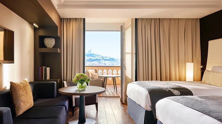 InterContinental Hôtel Dieu - bed room