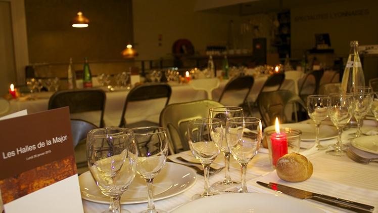 Les Halles de la Major - repas