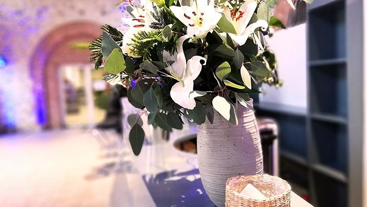 la table de cana fleur