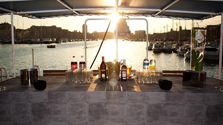 Croisières Marseille Calanques - à bord du bateau