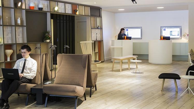 Novotel Marseille Prado - vue lobby