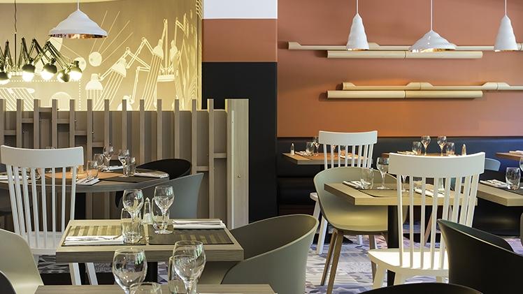 Novotel Marseille Prado - vue restaurant