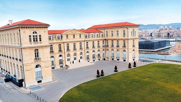 Palais du Pharo - vue extérieure