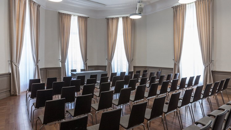Palais du Pharo - vue salle de réunion