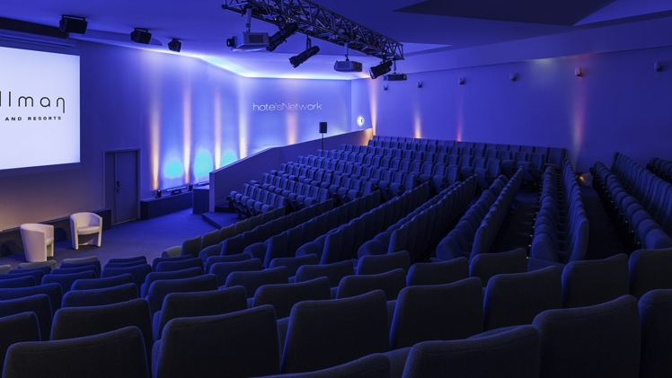 Pullman Marseille Palm Beach - vue auditorium