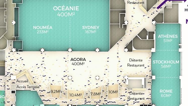 WTC City center plan