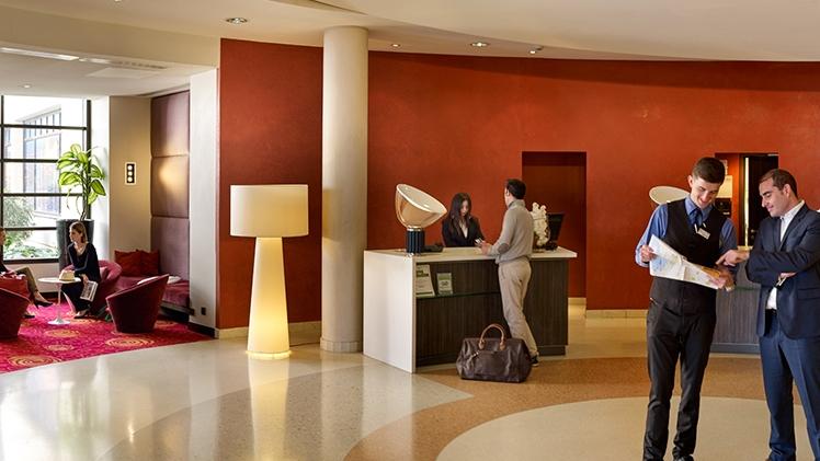 Radisson Blu Hotel - vue lobby