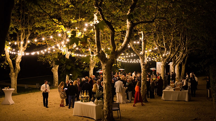 Chateau la coste reception nocturne