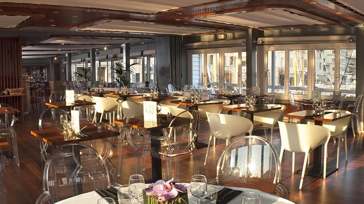 Restaurant La Nautique - vue salle 1