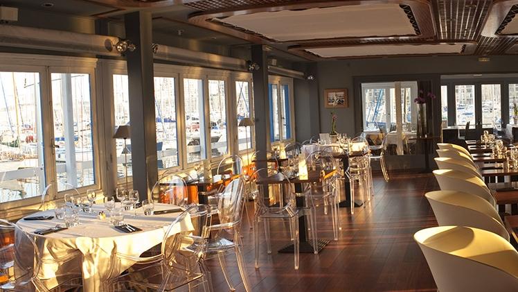 Restaurant La Nautique - vue salle 2