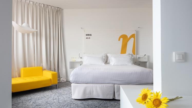NHow Marseille Palm Beach chambre 2