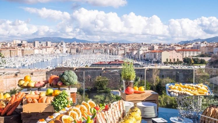 Terrasse sofitel Vieux-Port