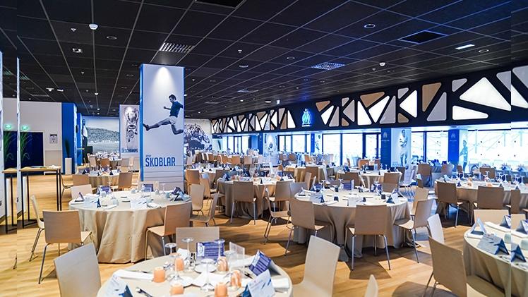 stade Orange velodrome, salon tables