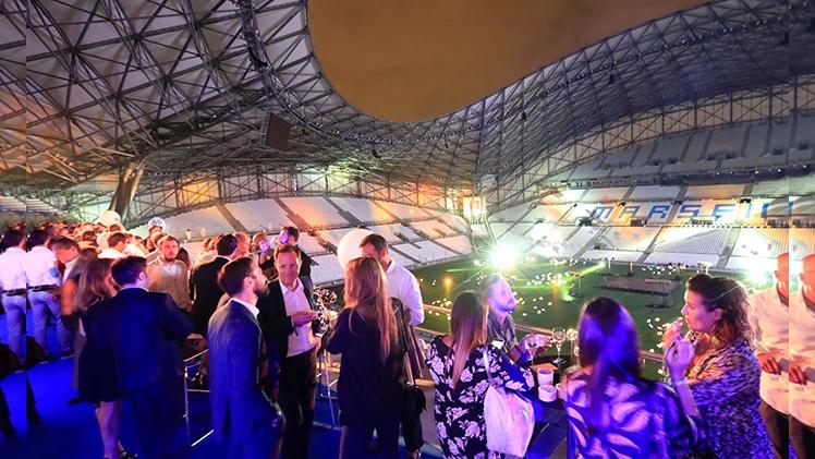 stade Orange velodrome, terrasse salon