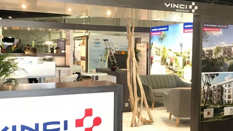 Stand Vinci Salon Immo Marseille Parc Chanot