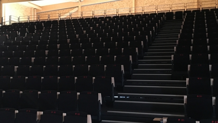 theatre des calanques fauteuils